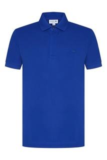 Синее поло Lacoste
