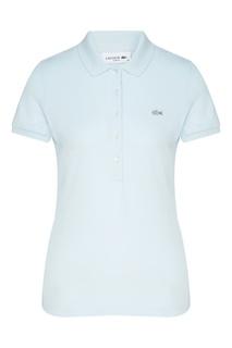 Голубая футболка-поло Lacoste
