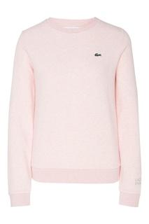 Розовый свитшот Lacoste