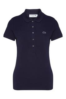 Темно-синяя футболка-поло Lacoste