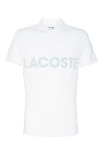 Поло с логотипом Lacoste