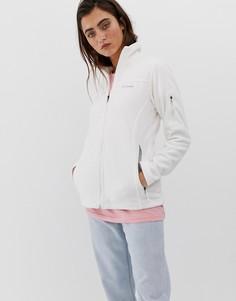 Белая флисовая куртка Columbia Fast Trek II - Серый