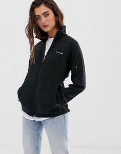 Черная флисовая куртка Columbia Fast Trek II - Черный