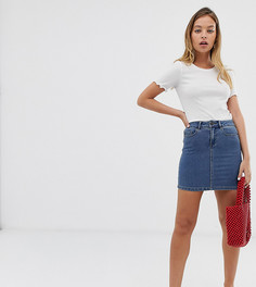 Джинсовая мини-юбка Vero Moda Petite - Синий