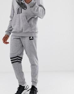 Серые джоггеры Adidas Training ID - Серый