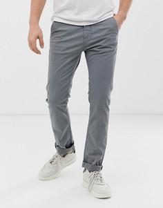 Пепельно-серые чиносы Nudie Jeans Co Slim Adam - Серый