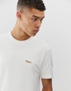 Белая футболка с логотипом Nudie Jeans Co Daniel - Белый
