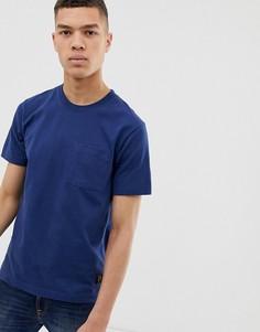 Темно-синяя футболка Nudie Jeans Co Kurt - Темно-синий