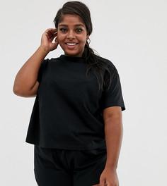 Комбинируемый пижамный лонгслив ASOS DESIGN Curve - Черный