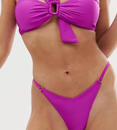 Стринги бикини South Beach mix & match fiesta - Фиолетовый