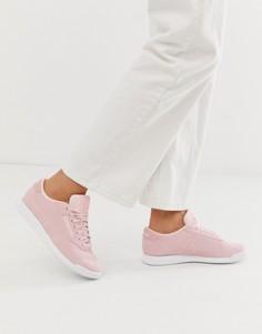 Розовые замшевые кроссовки Reebok Classic - Розовый