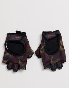 Черные перчатки Nike Training Ultimate - Розовый