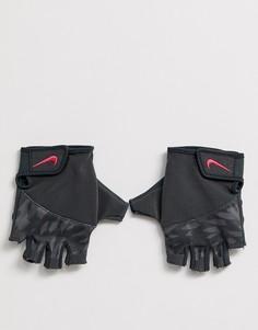 Серые перчатки Nike Training elemental - Розовый