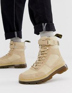 Ботинки с 7 парами люверсов Dr Martens Combs - Бежевый