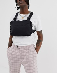 Черная сумка на грудь Mi-Pac Frontline - Черный