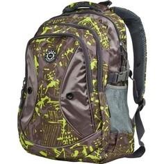 Рюкзак дорожный Polar 80062 Green (кор.с зел.Графика)