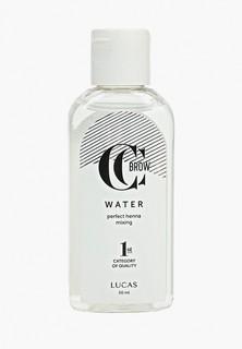 Набор для макияжа бровей CC Brow в саше (коричневый), 5 гр+ вода для разведения хны