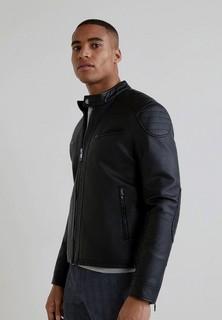 Куртка кожаная Mango Man - BRAKE - BRAKE