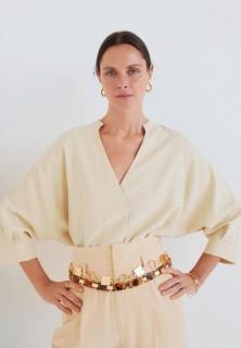 Блуза Mango - CARAMELO - CARAMELO