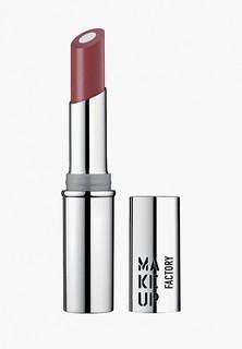 Помада Make Up Factory с мерцающим стержнем Inner Glow Lip Color т.40 классическая умбра