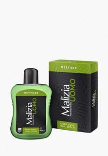 Лосьон после бритья Malizia для чувствительной кожи, VETYVER, 100 мл