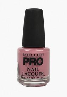 Лак для ногтей Mollon Pro с закрепителем HARDENING NAIL LACQUER №006 15 мл