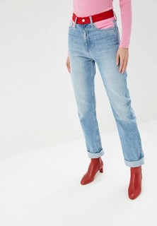 Джинсы Calvin Klein Jeans HIGH RISE STRAIGHT