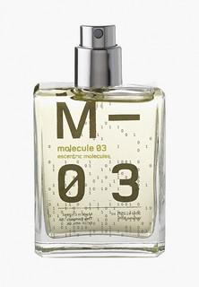 Туалетная вода Escentric Molecules EscentricMolecules MOLECULE 03 EDT 30 мл cased