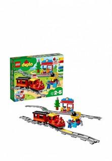 Конструктор DUPLO LEGO Поезд на паровой тяге 10874