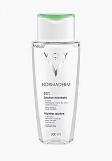 Лосьон для лица Vichy Мицеллярный для снятия макияжа Normaderm 3-В-1, 200 мл