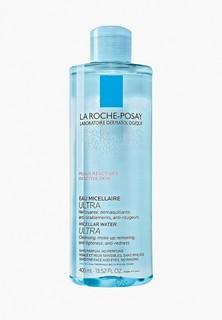 Мицеллярная вода La Roche-Posay ULTRA для чувствительной и склонной к аллергии кожи лица и глаз, 400 мл