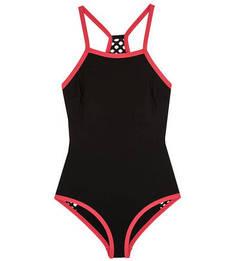 Слитный купальный костюм черного цвета Marc & Andre