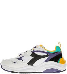 Разноцветные летние кроссовки с объемной подошвой Whizz Run Diadora