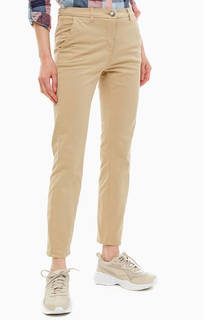 Хлопковые брюки чиносы с карманами Barbour