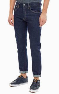 Зауженные джинсы синего цвета 501® Slim Taper Levis