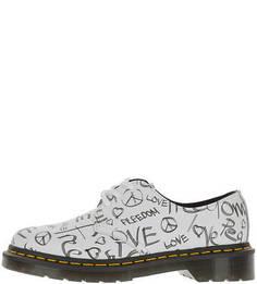 Женские полуботинки (низкие ботинки) Dr Martens