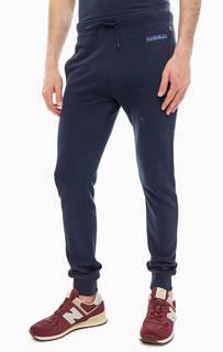 Темно-синие брюки из хлопка в спортивном стиле Napapijri