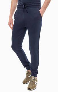 Темно-синие брюки из хлопка с манжетами Napapijri