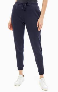 Темно-синие брюки-джоггеры из хлопка Napapijri