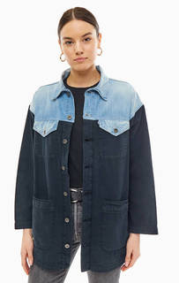 Джинсовая куртка оверсайз с карманами Levis: Made &; Crafted