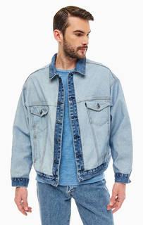 Джинсовая куртка с карманами Levis: Made &; Crafted