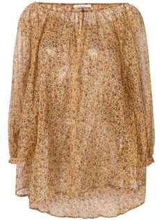 Mes Demoiselles блузка с цветочным принтом