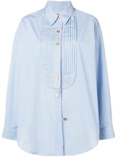 Chanel Vintage рубашка свободного кроя в мелкую клетку 1980-х годов