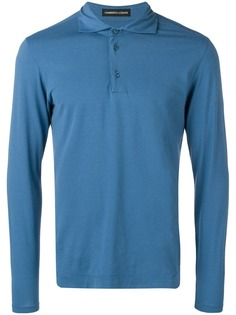 Lamberto Losani однотонная рубашка-поло