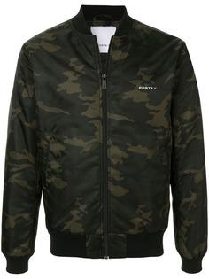 Ports V камуфляжная куртка-бомбер