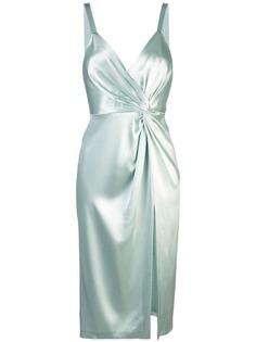 Jill Jill Stuart сатиновое платье со сборкой