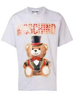 Moschino футболка Teddy Bear Circus Leader