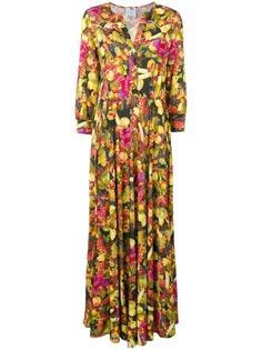 Ultràchic платье макси с фруктовым принтом
