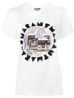 Isabel Marant футболка с логотипом