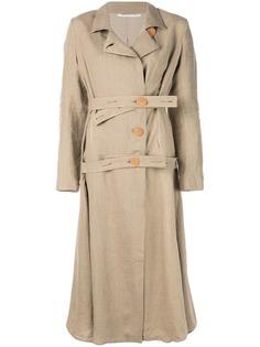 Cherevichkiotvichki пальто с двойным ремнем